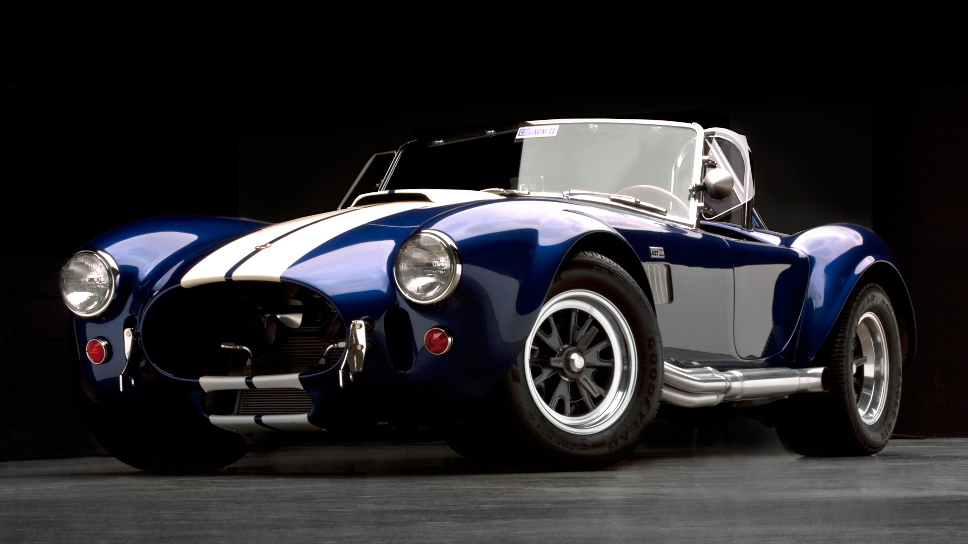 shelby cobra wallpaper logo